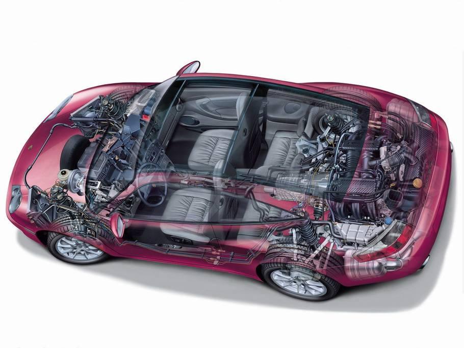 超清晰汽车透视图(1)